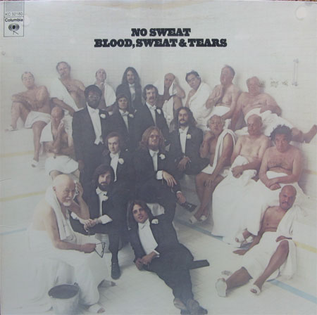 Albumcover Blood Sweat & Tears - No Sweat