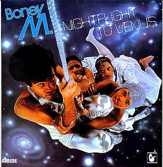 Albumcover Boney M. - Night Flight To Venus