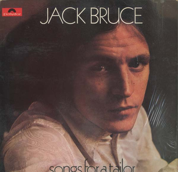 Albumcover Jack Bruce - Songs For A Taylor (NUR COVER)