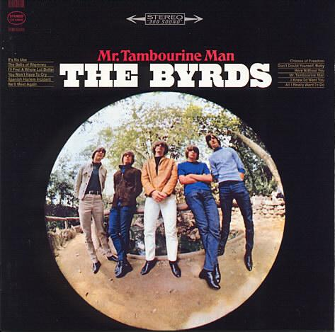 Albumcover The Byrds - Mr. Tambourine Man