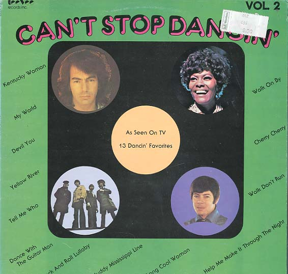 Albumcover Various Artists of the 70s - Can´t Stop Dancing Vol. 2