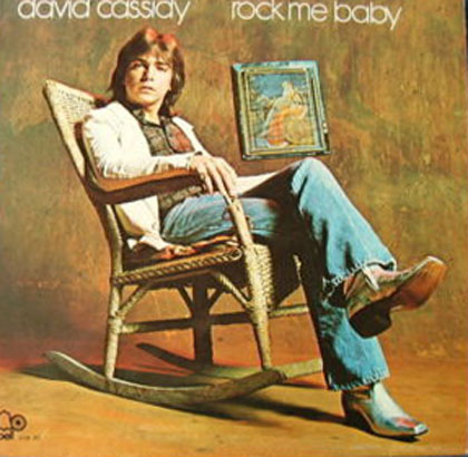 Albumcover David Cassidy - Rock Me Baby