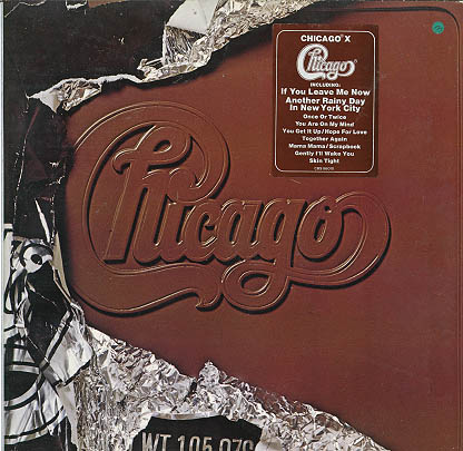 Albumcover Chicago (Band) - Chicago X