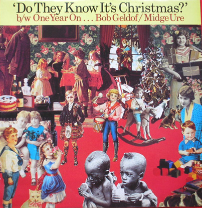 "Albumcover Band Aid - Do They Know Its Christmas / One Year On (Feed The World)<br>Maxi 12 "" 45 RPM"