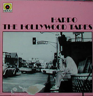 Albumcover Harpo - The Hollywood Tapes