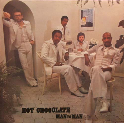 Albumcover Hot Chocolate - Man To Man