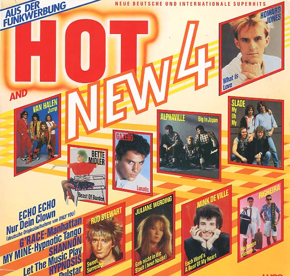 Albumcover Various Artists of the 80s - Hot And New 4