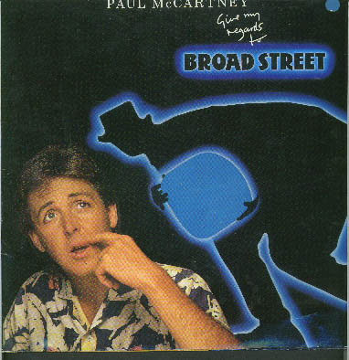 Albumcover Paul McCartney - Give My Regards To Broad Street