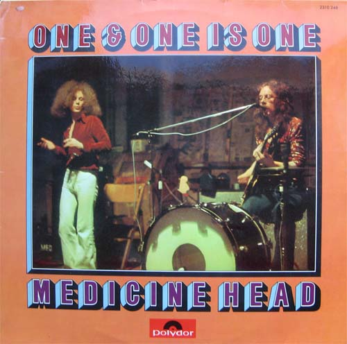 Albumcover Medicine Head - One & One Is One
