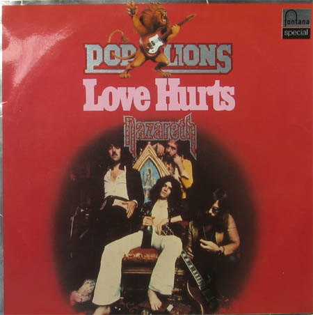 Albumcover Nazareth - Love Hurts (Pop Lions)