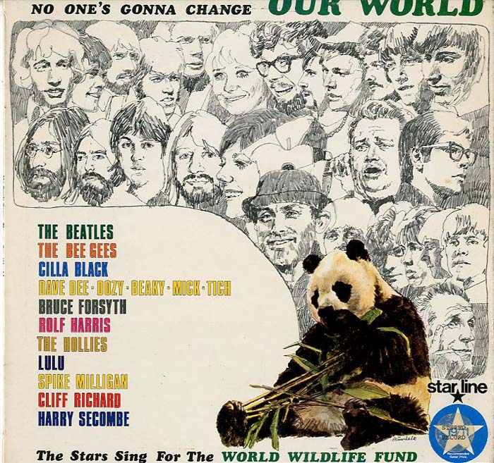 Albumcover Various GB-Artists - No Ones Gonna Change Our World