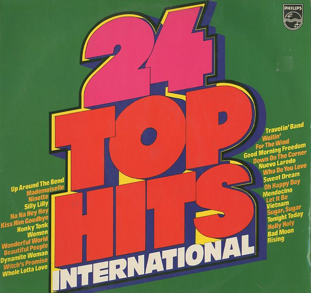 Albumcover Philips Sampler - 24 Top Hits International (DLP)