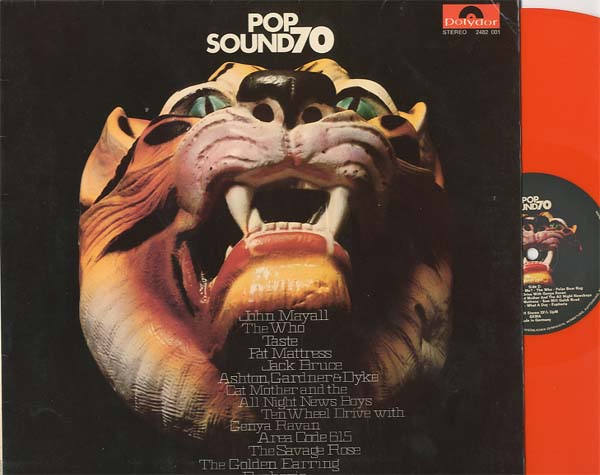 Albumcover Various Artists of the 70s - Pop Sound 70