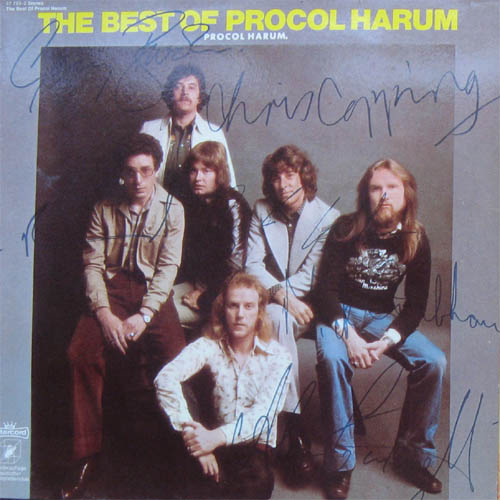 Albumcover Procol Harum - The Best Of Procol Harum (Autogramm Cover)