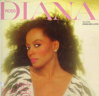 Albumcover Diana Ross - Why Do Fools Fall In Love,