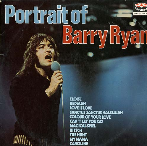 Albumcover Barry Ryan - Portrait Of Barry Ryan
