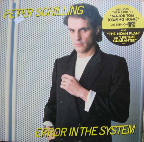 Albumcover Peter Schilling - Error in the System