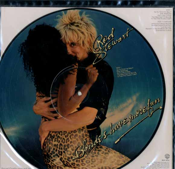 Albumcover Rod Stewart - Blondes Have More Fun (Picture Disc)