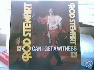 Albumcover Rod Stewart - Can I Get A Witness (mit Steampacket)