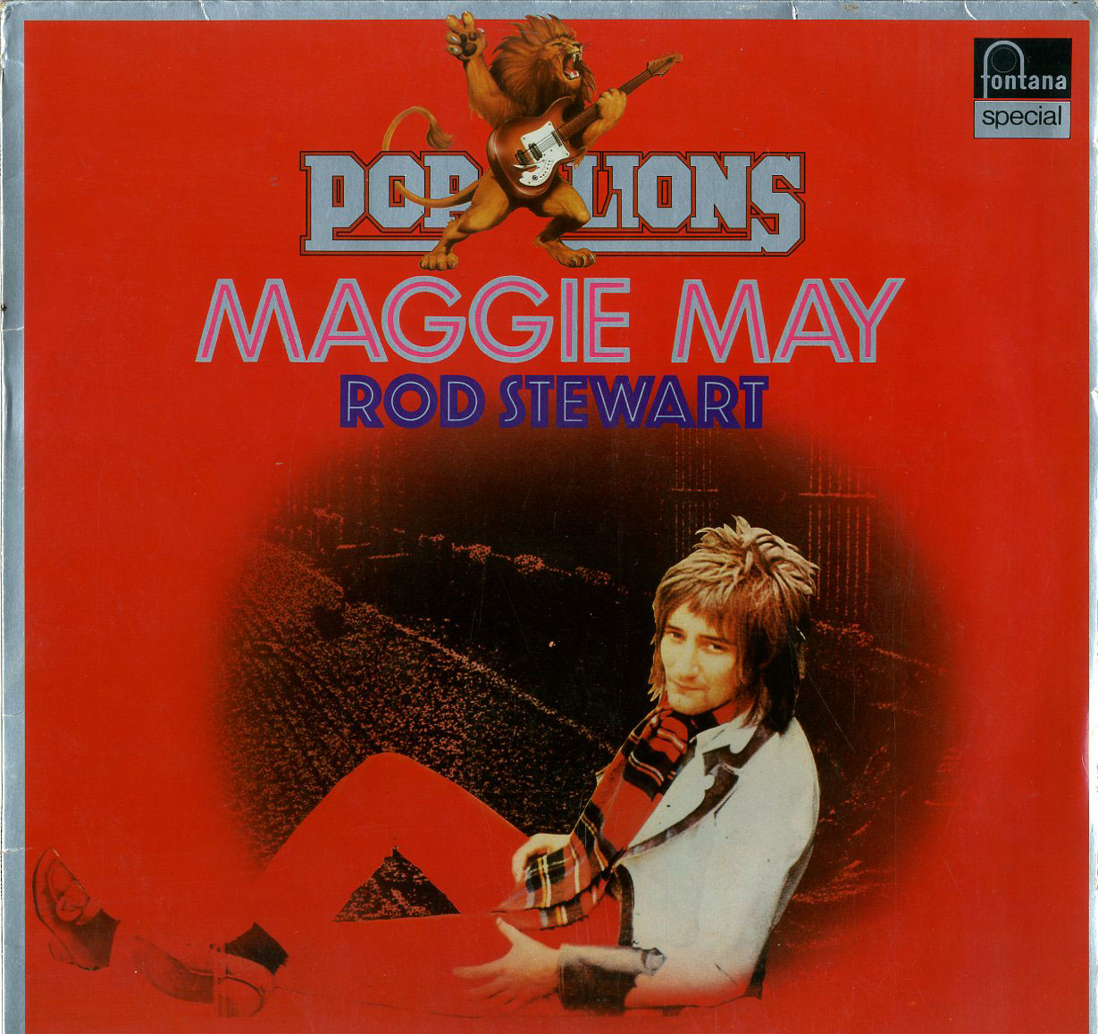 Albumcover Rod Stewart - Maggie May (Pop Lions)