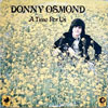 Cover: Donny Osmond - Donny Osmond / A Time For Us