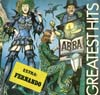 Cover: Abba - Greatest Hits (Unterwasser-Cover)