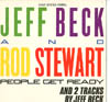 Cover: Jeff Beck - Jeff Beck and Rod Stewart: People Get Ready  + 2 Tracks by Jeff Back