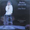 Cover: Streisand, Barbra - One Voice - Her First Full Length Concert in Twenty Years, September 6, 1986