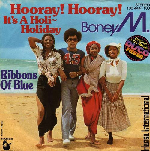 Albumcover Boney M. - Hooray Hooray It´s A Holi- Holiday / Ribbons of Blue