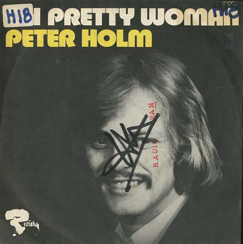 Albumcover Peter Holm - Ginny Come Lately / Pretty Woman