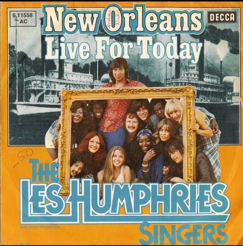 Albumcover Les Humphries Singers - New Orleans / Live For Today