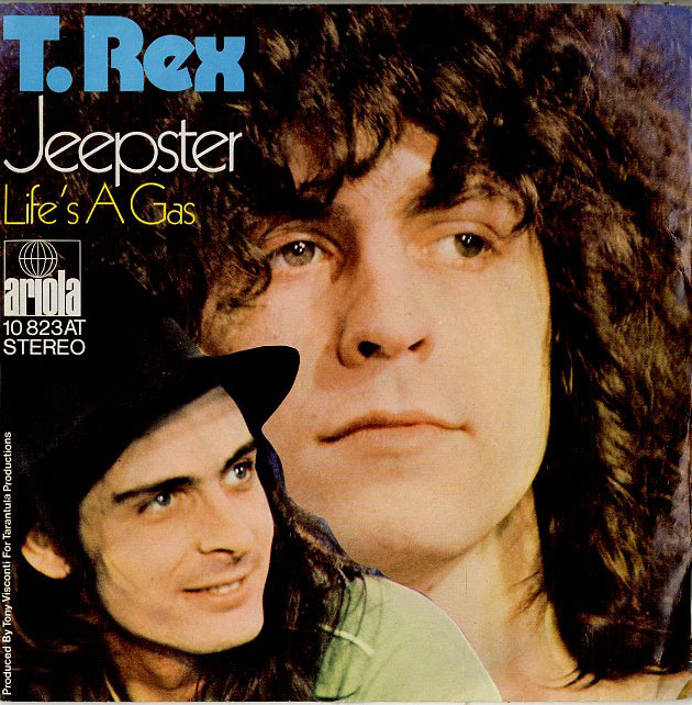 Albumcover T.Rex - Jeepster / Life Is A Gas