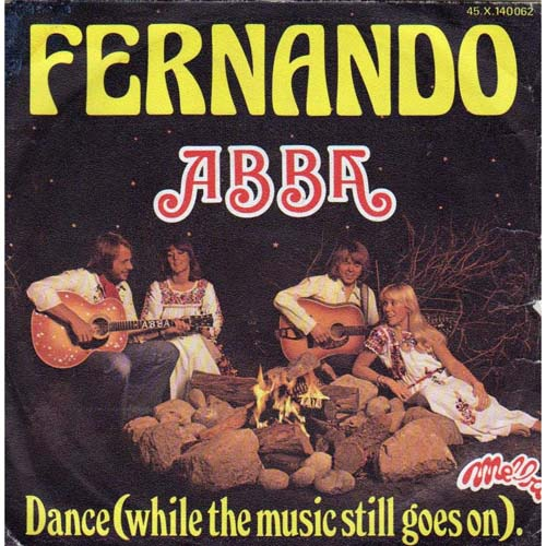 Albumcover Abba - Fernando /Dance (While the Music Still Goes On)