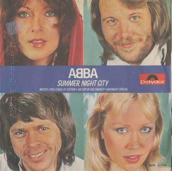 Albumcover Abba - Summer Night City / Medley aus Pick a Bale of Cotton, On Top of Old Smokey und Midnight Special