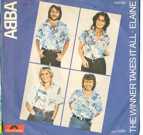 Albumcover Abba - The Winner Takes It All / Elaine