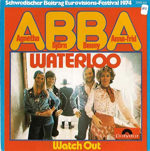 Albumcover Abba - Waterloo / Watch Out