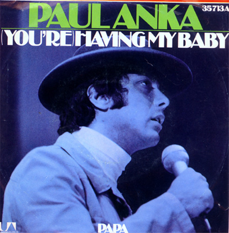 Albumcover Paul Anka - You Are Having My Baby / Papa