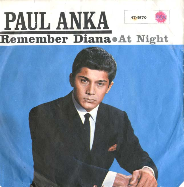 Albumcover Paul Anka - Remember Diana (EP)