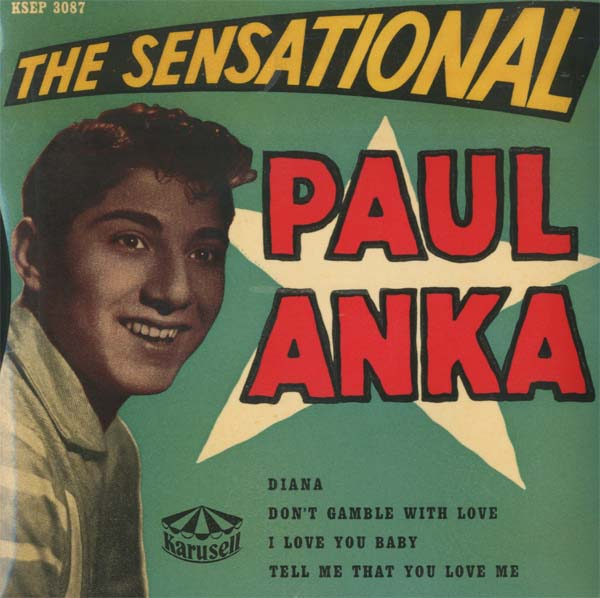 Albumcover Paul Anka - The Sensational Paul Anka