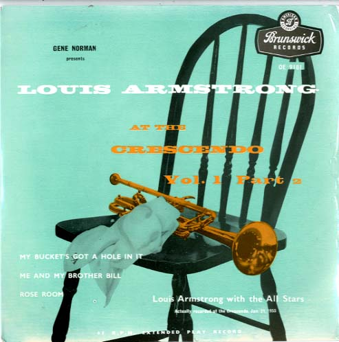 Albumcover Louis Armstrong - At The Crescendo  Part 1 (2 EP)