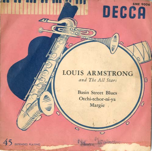 Albumcover Louis Armstrong - Louis Armstrong And The All Stars (EP)