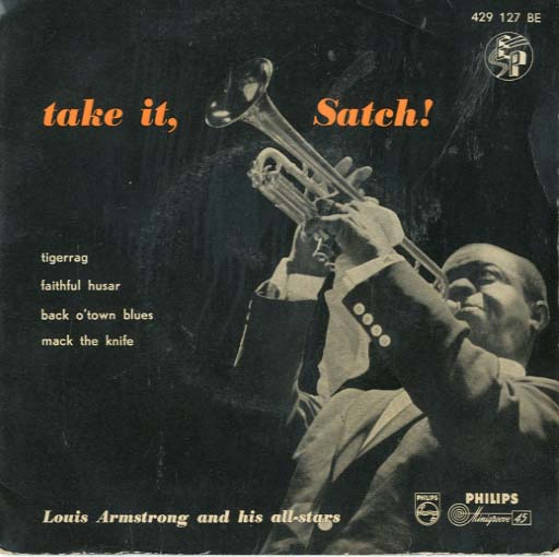 Albumcover Louis Armstrong - Take It Satch (EP)