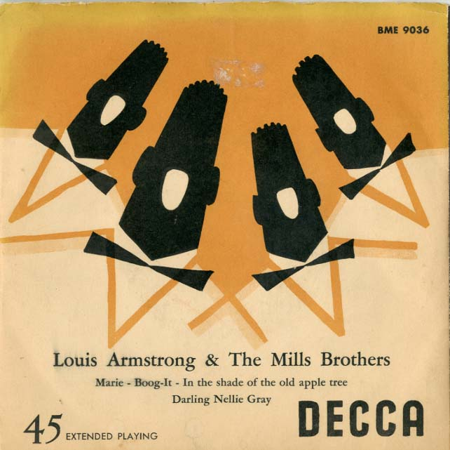 Albumcover Louis Armstrong - Louis Armstrong & The Mills Brothers