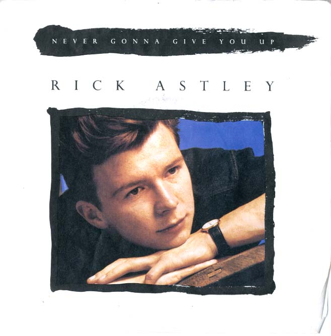 Albumcover Rick Astley - Never Gonna Giove You Up  (voc. / instr.)