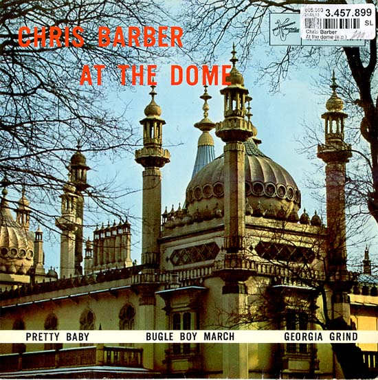 Albumcover Chris Barber - At The Dome (EP)