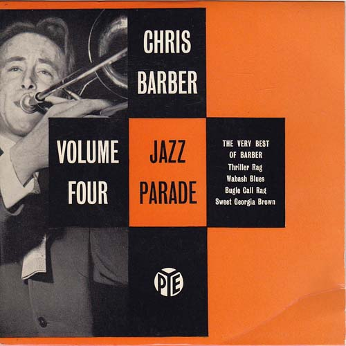 Albumcover Chris Barber - Jazz Parade Volume Four