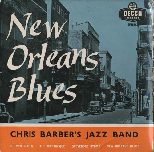 Albumcover Chris Barber - New Orleans Blues (EP)