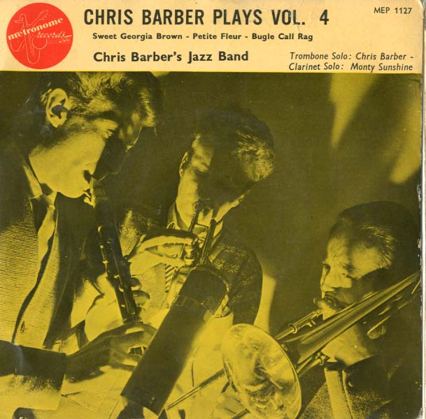 Albumcover Chris Barber - Chris Barber Plays Vol. 4