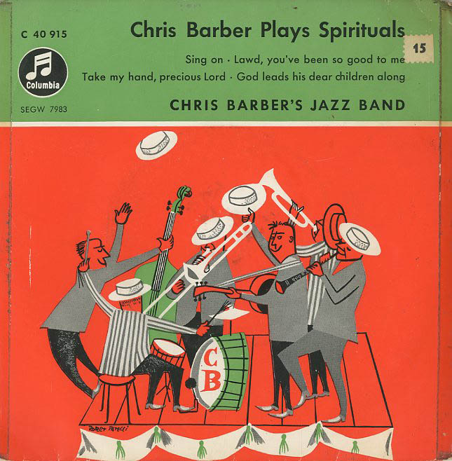 Albumcover Chris Barber - Chris Barber Plays Spirituals