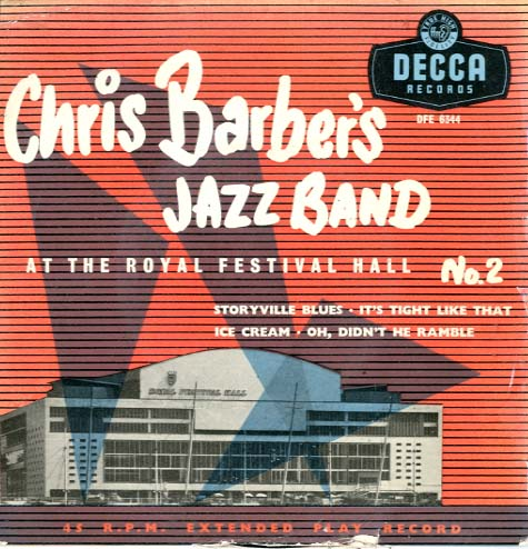 Albumcover Chris Barber - At The Royal Festival Hall No.2 (EP)
